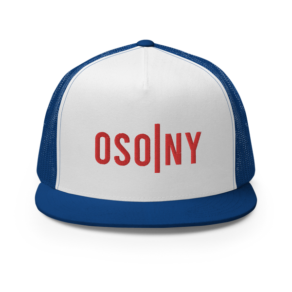 OSONY Red Logo Trucker Cap (Available in 3 Colors)