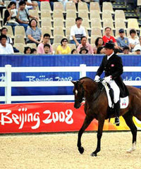 Miss Filly goes to the Beijing Olympics