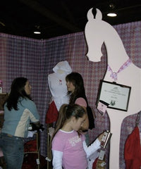 Miss Filly Masters Equi-Fair Booth