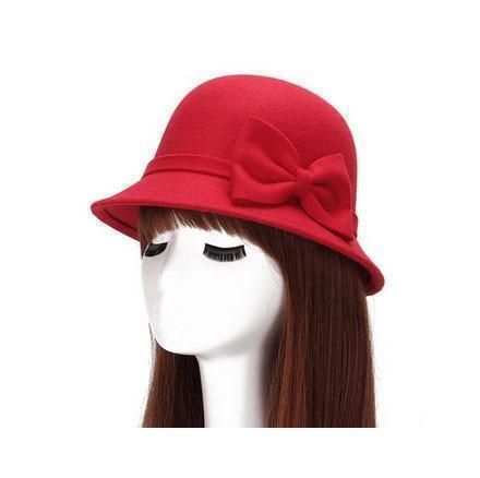 Fashion Vintage Women Fedora Hat