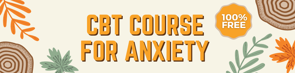 cbt course for anxiety banner