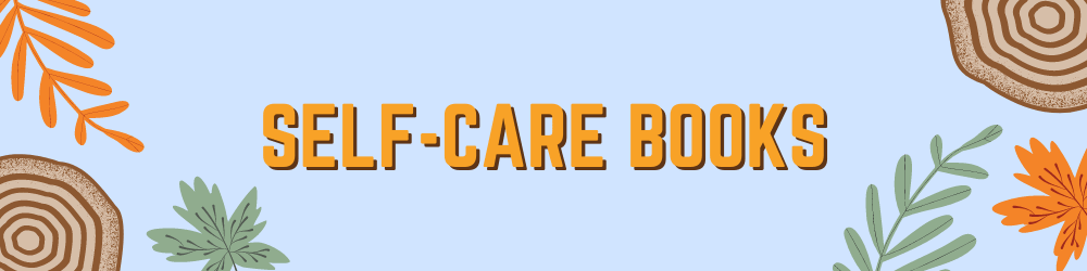 self-care book recommendations banner