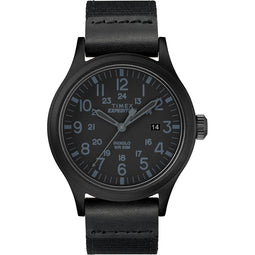 Timex Expedition Scout 40mm - Black - Fabric Strap Watch [TW4B14200]