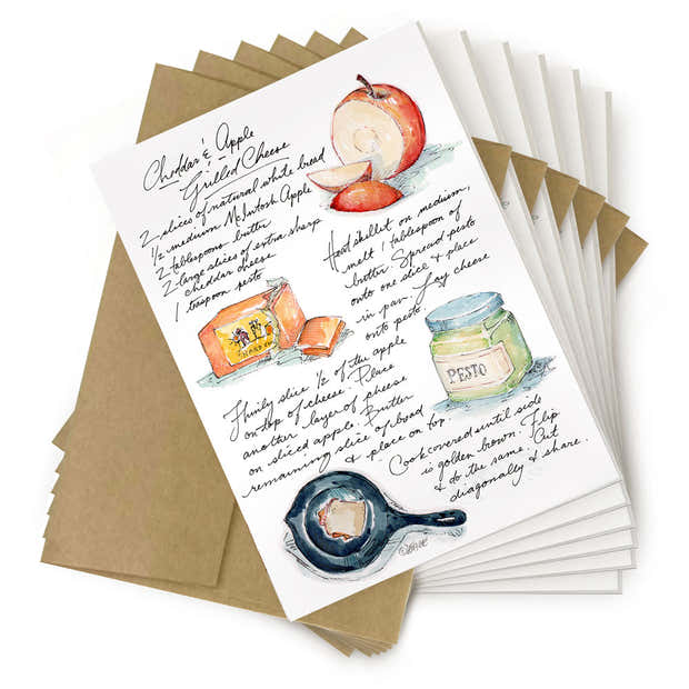 Recipe Card - Grilled Cheese 1