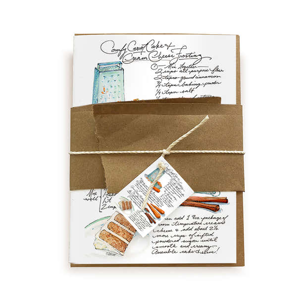 Recipe Card - Carrot Cake & Cream Cheese Frosting 1