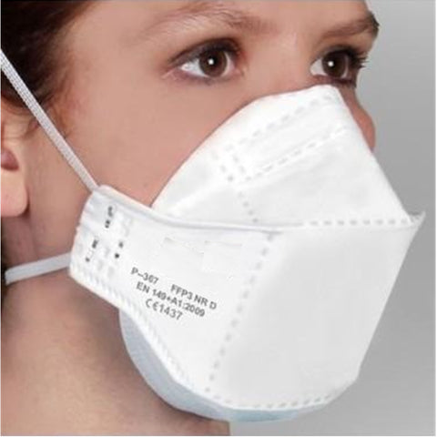 3 Part Fold Flat FFP2 Face Mask without Valve