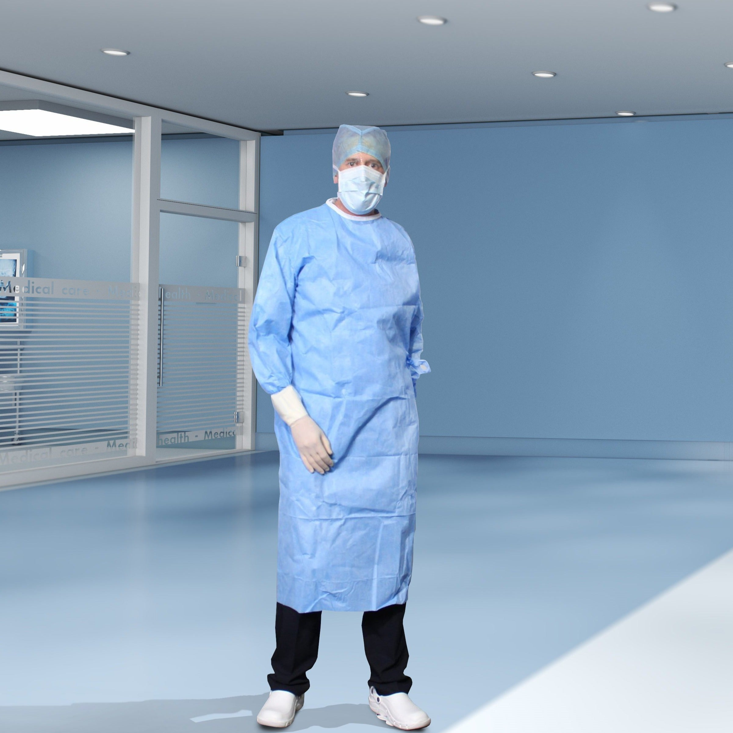 Sterile Standard Surgical Gown