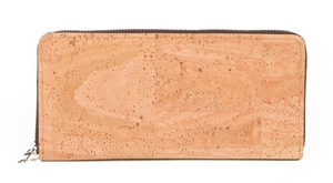 Cork Zip Wallet Clutch by Portuguese Passion - Compassionate Closet