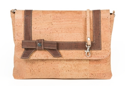 Portuguese Passion Accented Cork Handbag