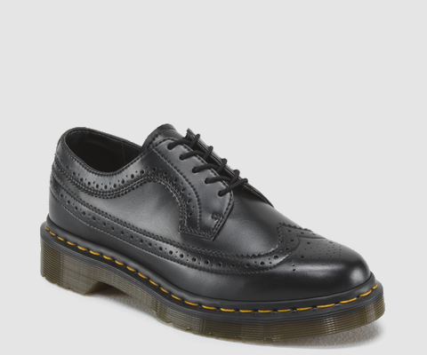 Dr. Martens Women's Vegan Brogue Wingtip Shoe
