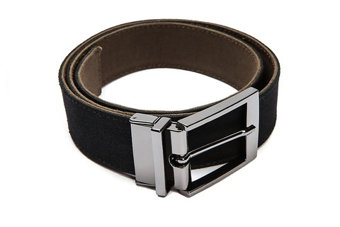 Ahimsa Double Sided Belt Black