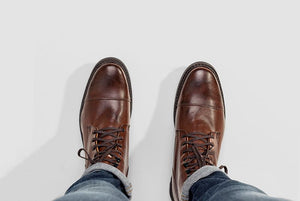 Men's Work Boot by Ahimsa - Compassionate Closet