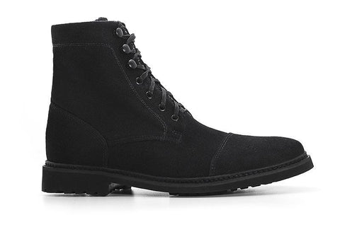 Women's Work Boot by Ahimsa in black (right)