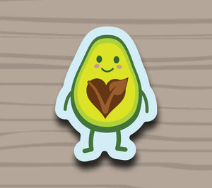 That's One Cute Avocado Sticker by Compassionate Closet - Compassionate Closet