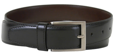 The Captain Belt by Vegan Collection in black (front)