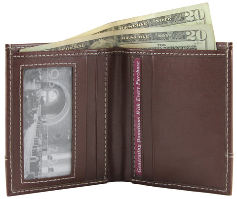 Coleman Bi Fold Wallet by The Vegan Collection - Compassionate Closet