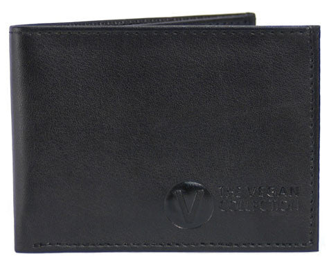 Compact Bi Fold Wallet by The Vegan Collection - Compassionate Closet