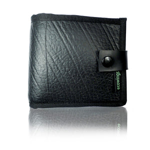 Black Buck Wallet by ecowings - Compassionate Closet
