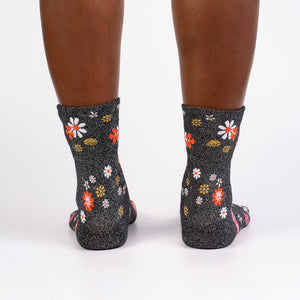 Flower Power Crew Socks by Sock it To Me - Compassionate Closet