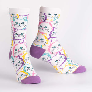Fur Real Crew Socks by Sock it To Me - Compassionate Closet