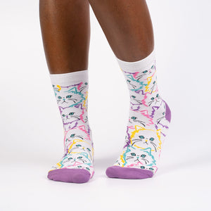Fur Real Crew Socks by Sock it To Me
