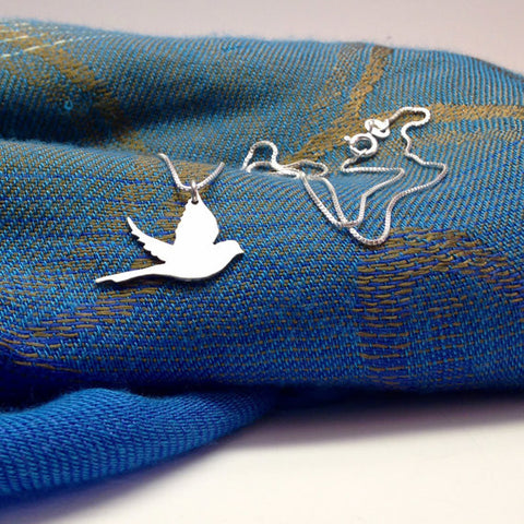 Zaaya Dove Bird Pendant Necklace