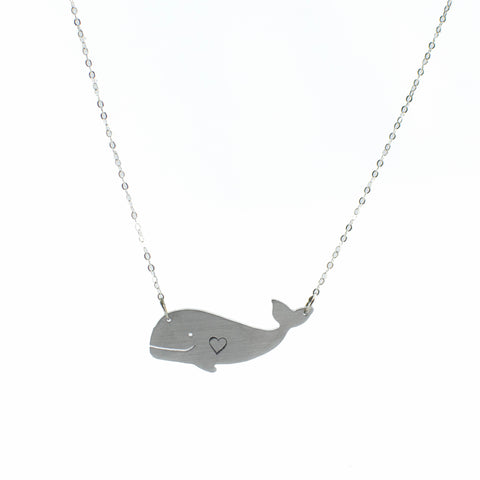 Christy Robinson Happy Hearth Whale Necklace