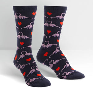 Happy You Exist Women's Crew Socks by Sock it To Me - Compassionate Closet