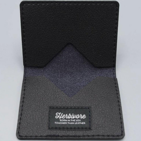 Black Ashby Wallet by Herbivore Clothing Company - Compassionate Closet