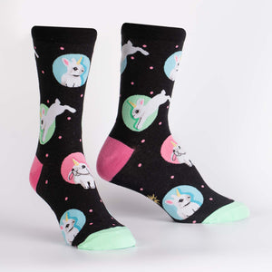 Hop to It Crew Socks by Sock it To Me - Compassionate Closet