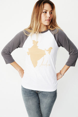 PUNJAMMIES India Tee full front