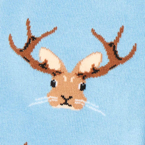 Jackalope Socks by Sock it To Me - Compassionate Closet
