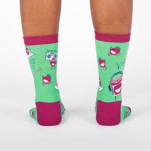 Kindness Is My Jam Crew Socks by Sock it To Me - Compassionate Closet