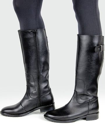 Knee High Riding Boots Black