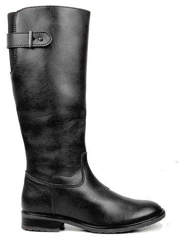 Knee High Riding Boots Black Right