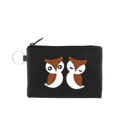 Love Owls Keyring Coin Purse by Lavishy