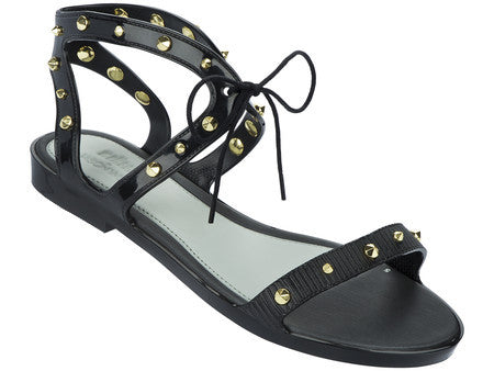 Studded Lace-Up Sandals by Melissa - Compassionate Closet