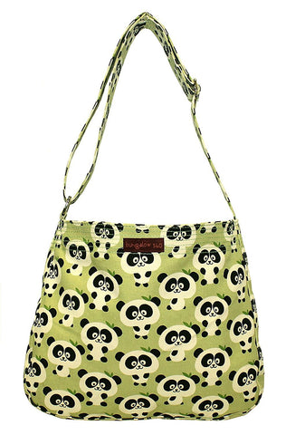 Pig Print Messenger Bag