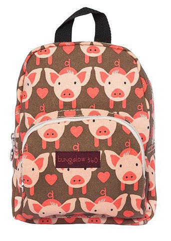 Bungalow 360 Mini Pig Backpack front