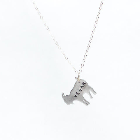 Christy Robinson Designs Mini Vegan Goat Necklace