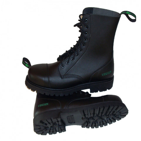 NAE B-GUN Vegan Steel Toecap Boot stacked