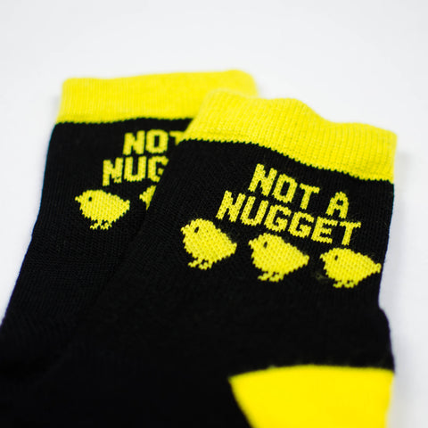 Not A Nugget Ankle Socks closeup