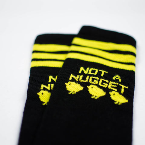 Not A Nugget Knee High Socks by Compassionate Closet - Compassionate Closet