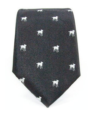 PETA Dog Tie Black