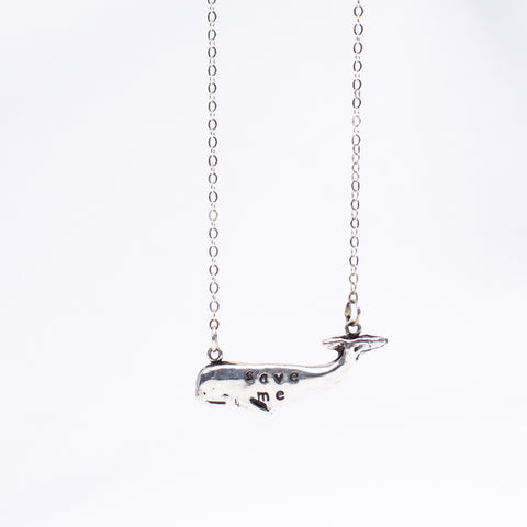 PMC Whale Necklace