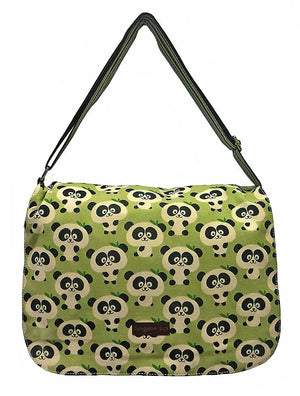Large Flap Messenger Bag by Bungalow360 - Compassionate Closet