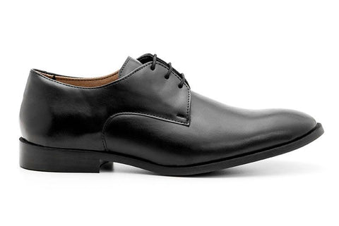 Plain Toe Shoe Black