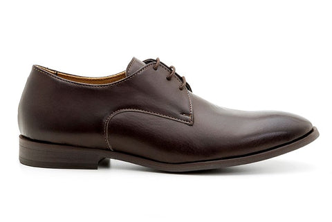 Plain Toe Shoe Brown