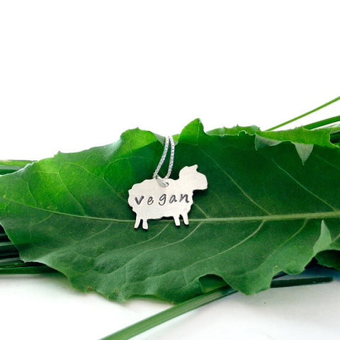 Zaaya Vegan Sheep Necklace