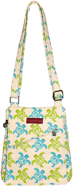 Small Messenger Bag by Bungalow360 - Compassionate Closet